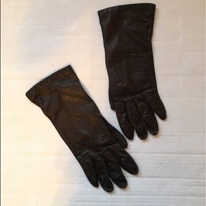 1960's French Leather Gloves from M Fields and Co
